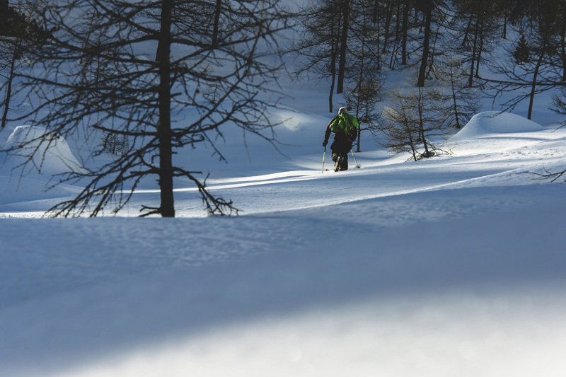 tobi Tritscher on ski touring and skiing