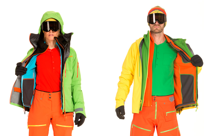 Das ideale Norrøna-Outfit zum Freeriding